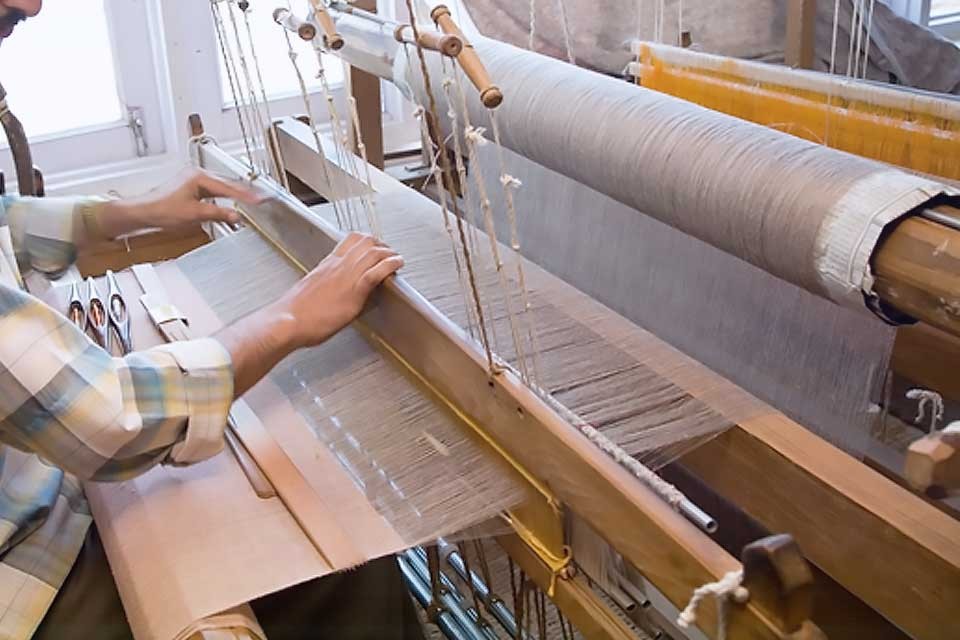 Intensive labor work in weaving makes Cashmere more expensive