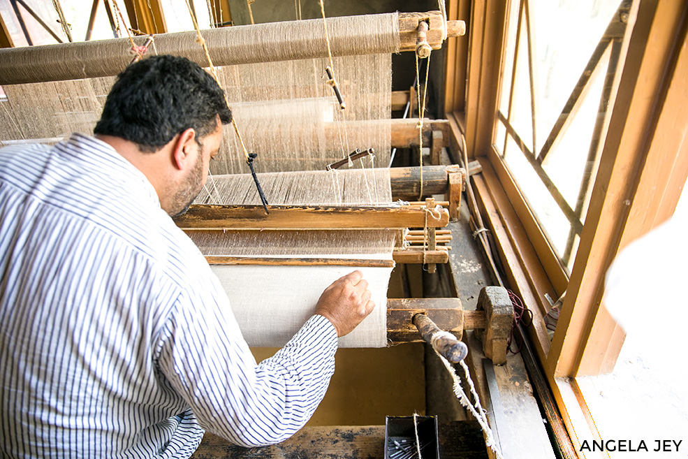 How Pashmina is made?
