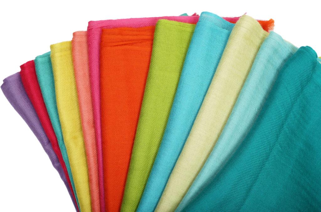 pashmina scarves in multi color