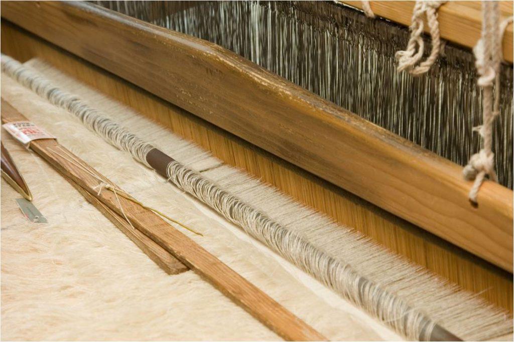 Pashmina weaving