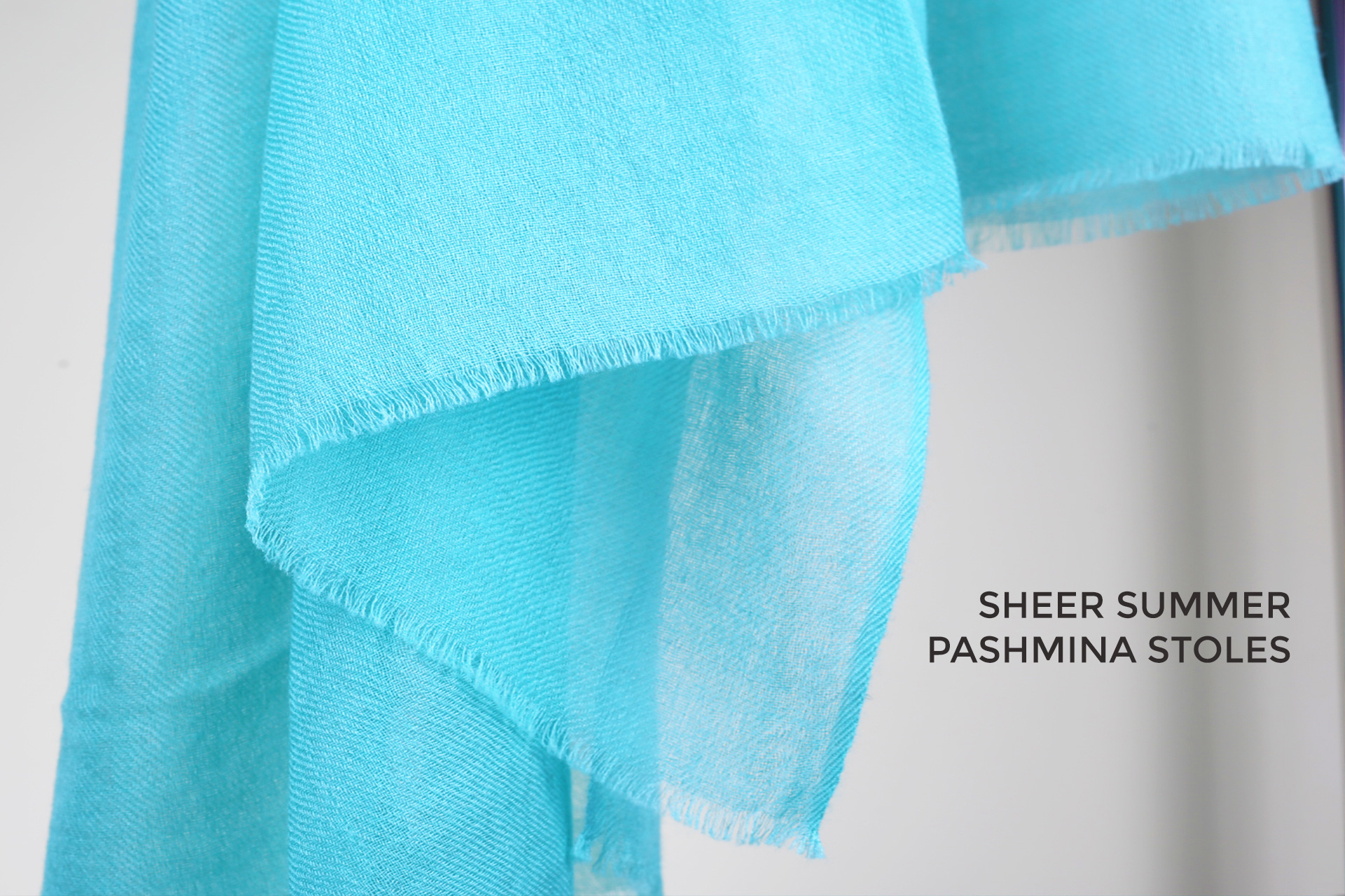 From winters to summers, Pashmina scarves still timeless