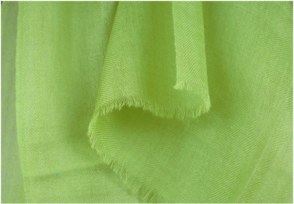 green pashmina scarf