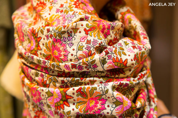 Soak In The Romance Of Embroidered Pashmina Shawls
