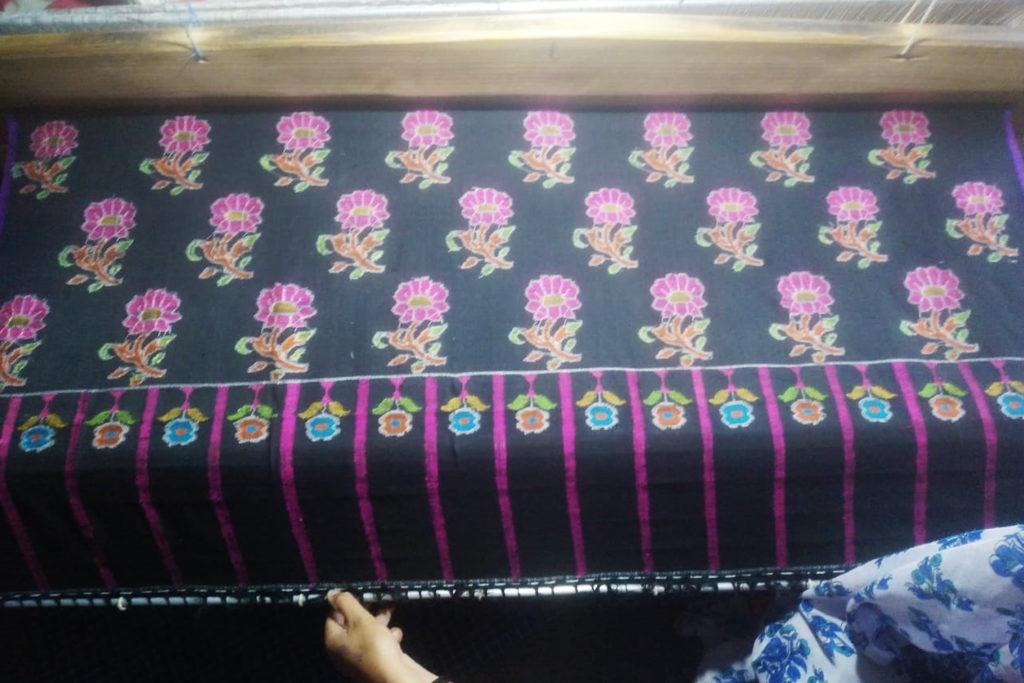 Kashmir's famous Kani Shawls