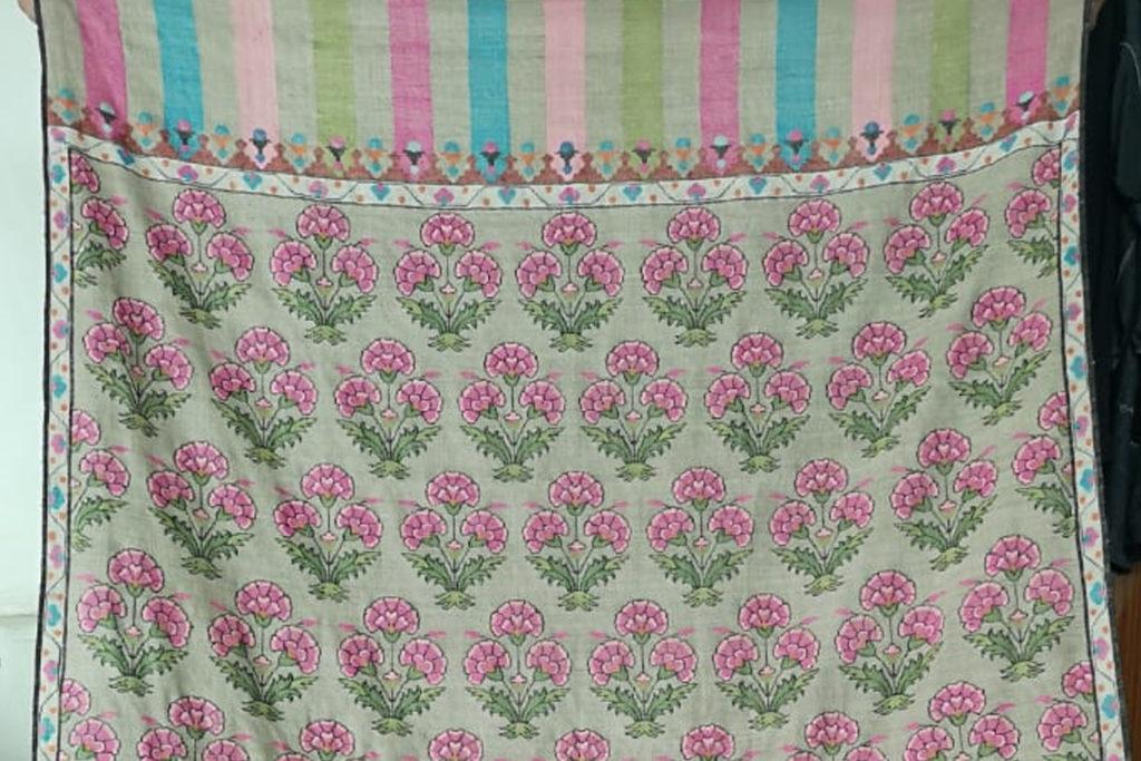 luxurious kani shawls