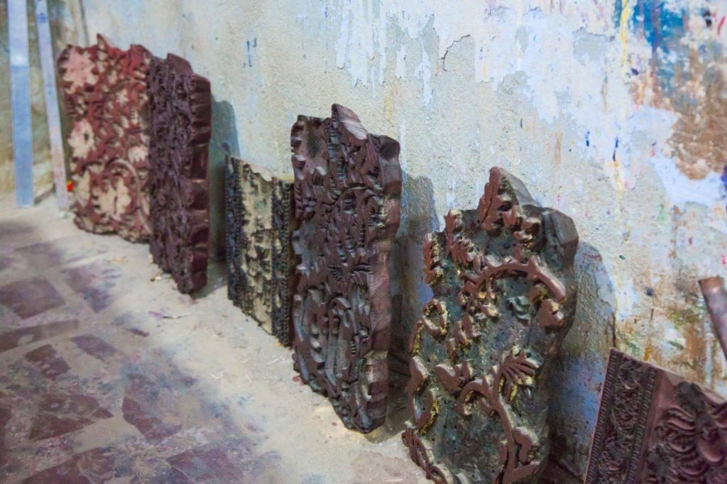 wooden block printing patterns