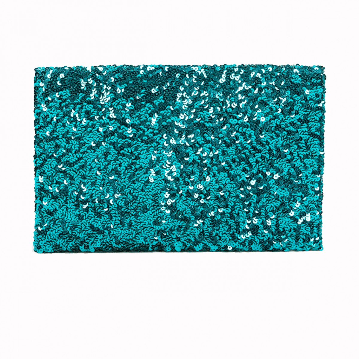 Sequins Clutch Bag - Teal