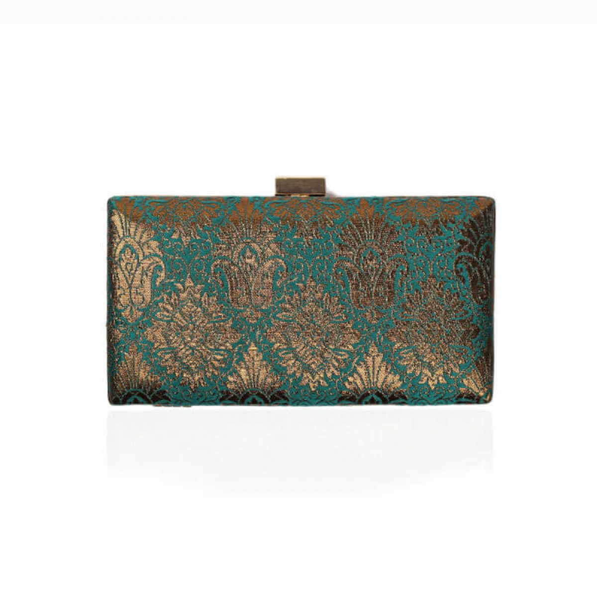 Evening Clutch Bag - Dark Green