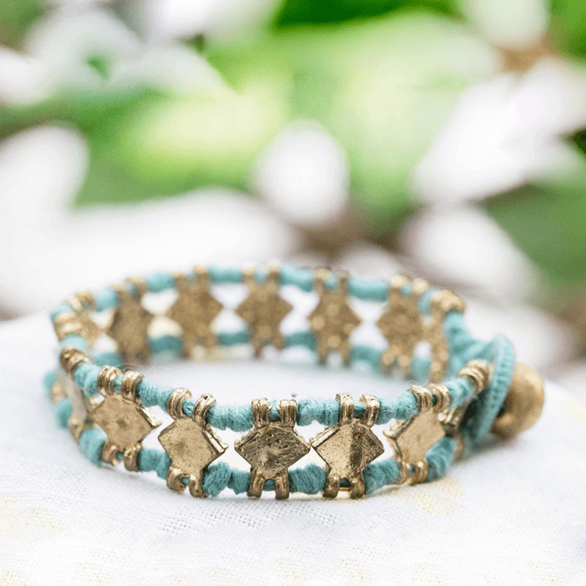 Bohemian Fashion Bracelet - Turquoise