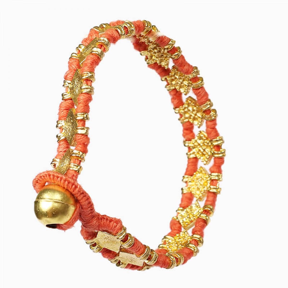 Bohemian Fashion Bracelet - Coral
