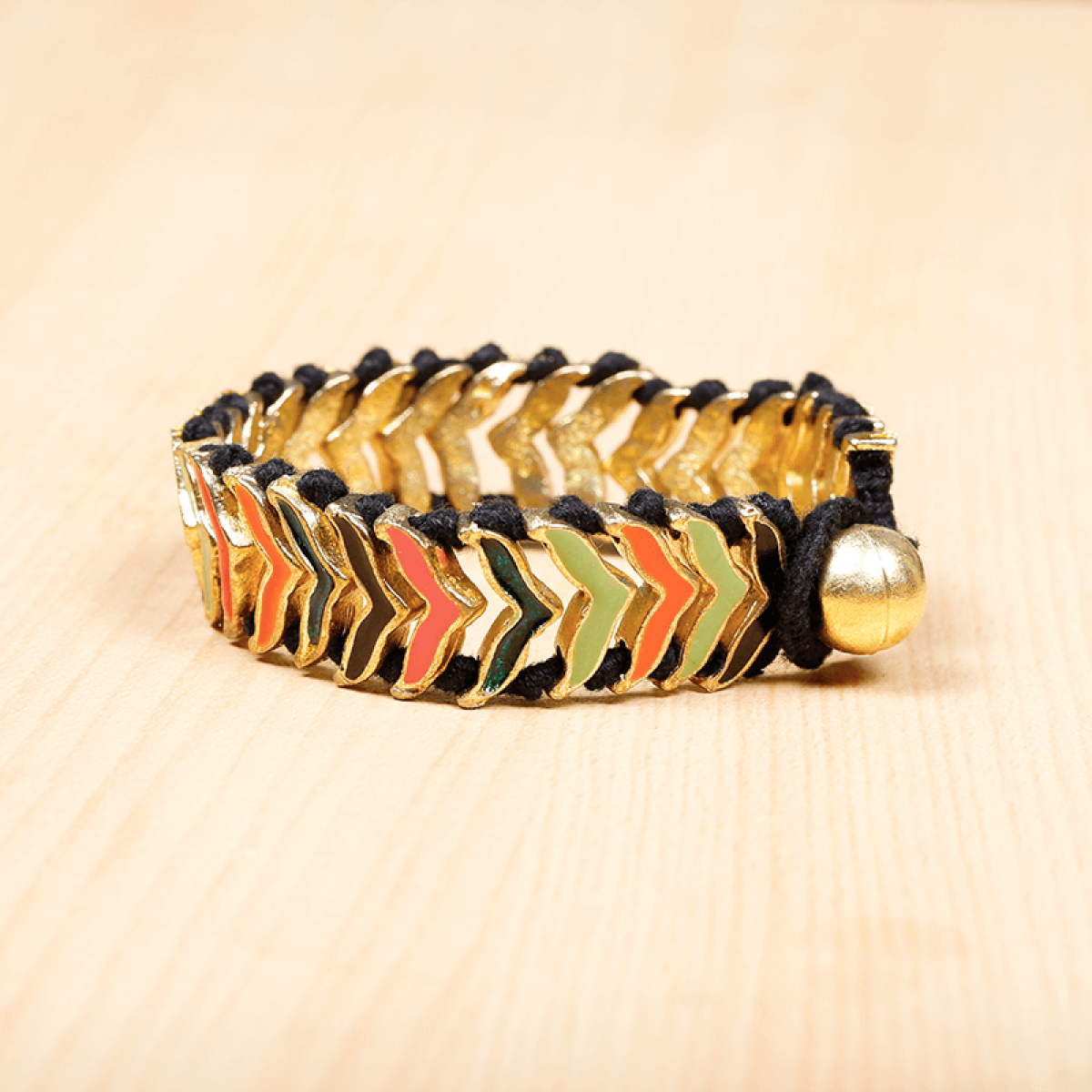 Bohemian Fashion Bracelet - Gold Metal