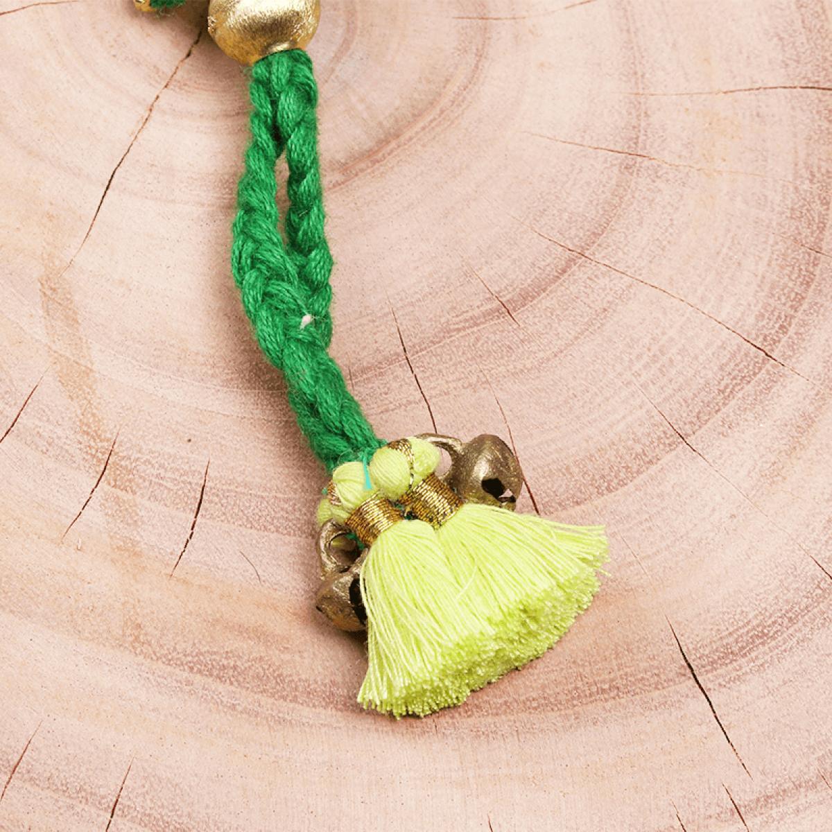Bohemian Fashion Tassel Bracelet - Green