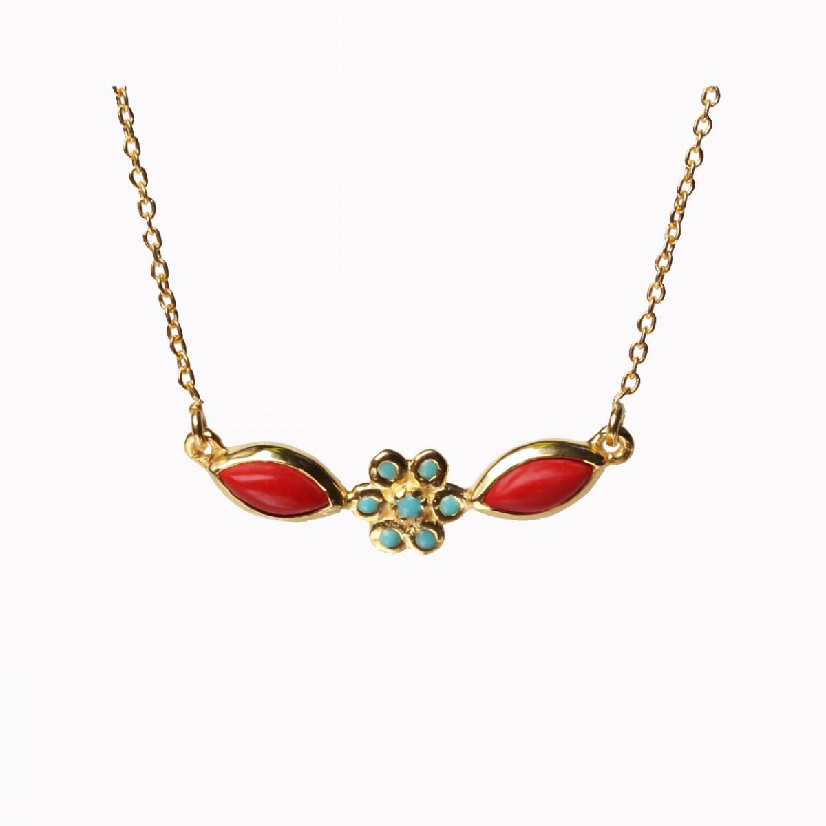 Multi Stones Necklace