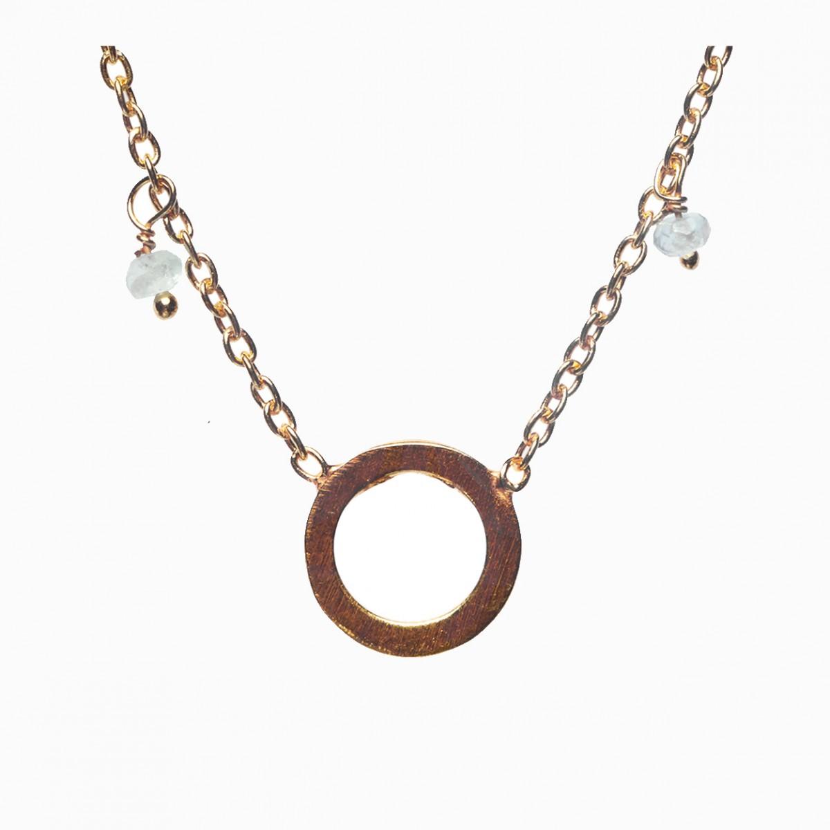 Apatite semi-precious necklace