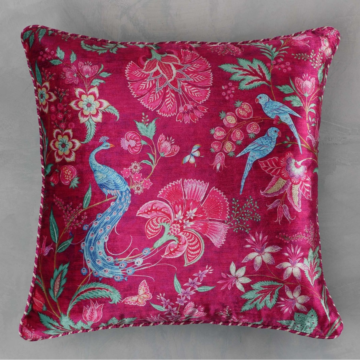 Designer Cushion Cover - Ruby