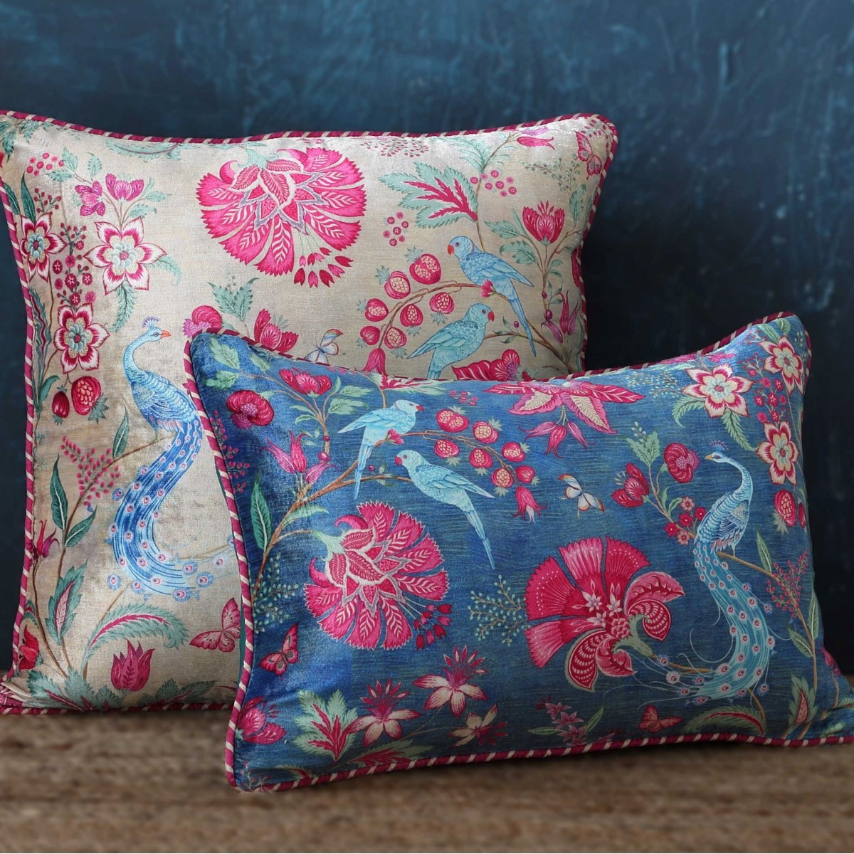 Designer Cushion Cover Slim - Blue