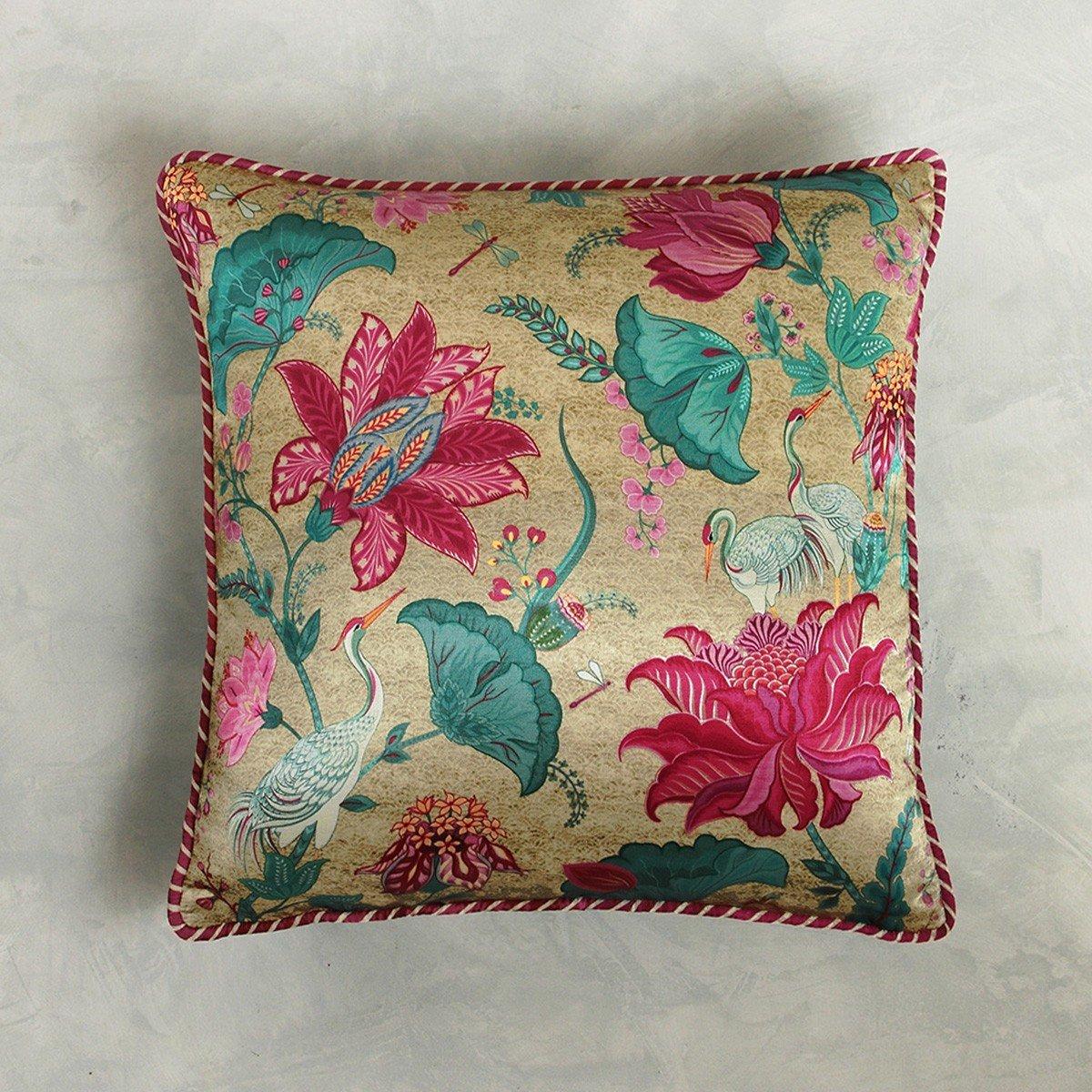 Designer Cushion Cover - Cream