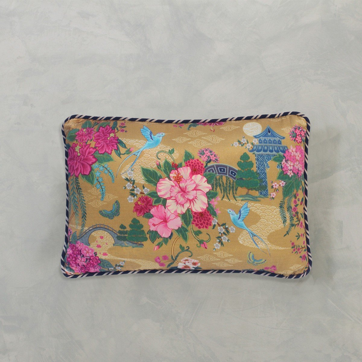 Designer Cushion Cover Slim - Gold