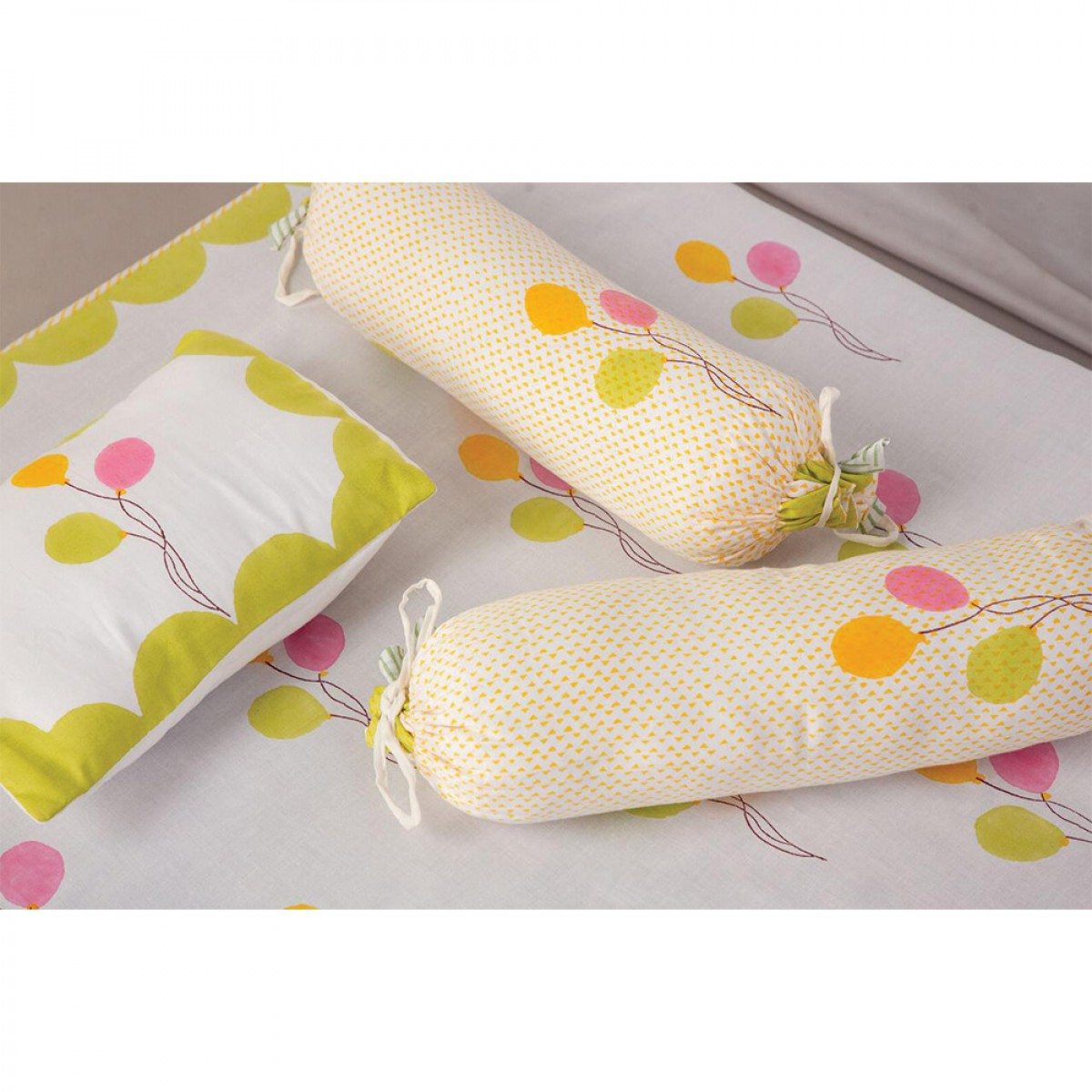Baby Quilts Set - Balloon ( set of 6 )