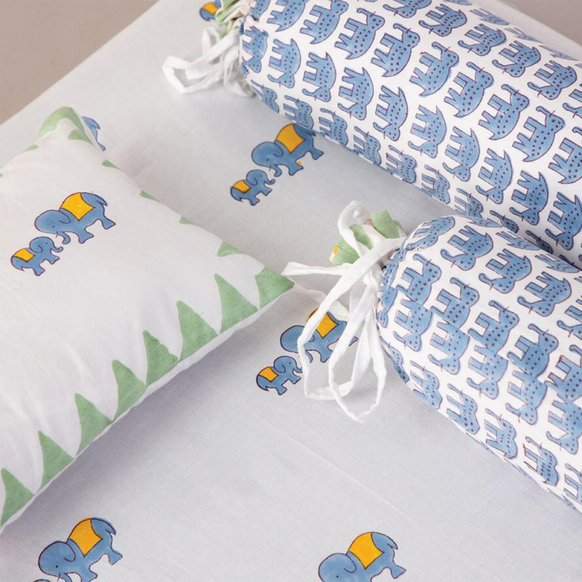 Baby Quilts Set - Elephant ( set of 6 )