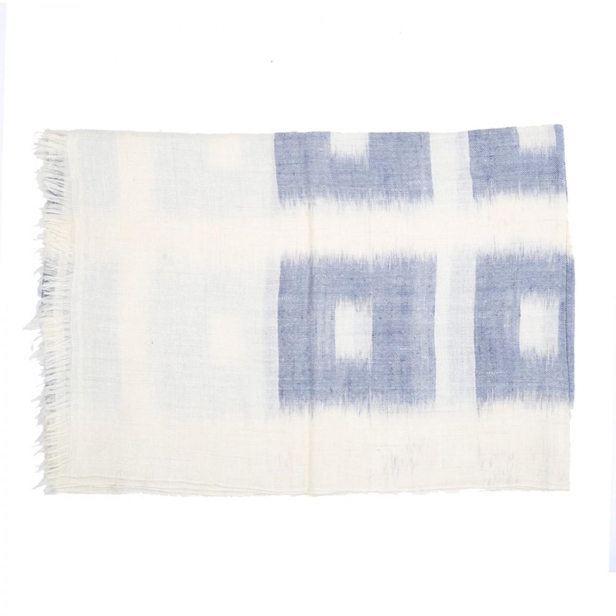 Men's Cashmere Pashmina Scarf - Light Blue