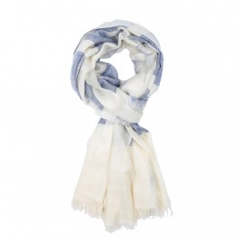Men's Cashmere Pashmina Scarf - Light Blue