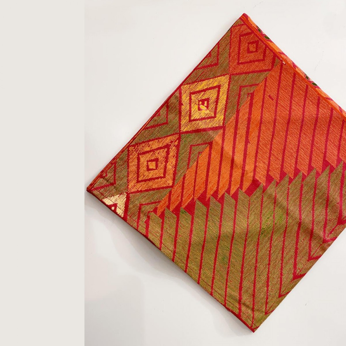 Cotton Printed Napkin - Red ( Set of 6 )