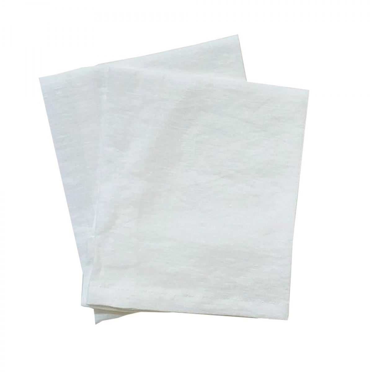Linen Napkin - White (Set of 6)