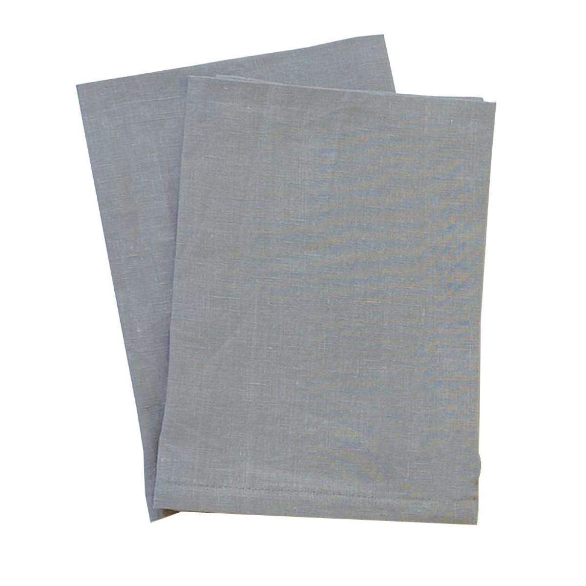 Linen Napkin - Steel Grey (Set of 6)