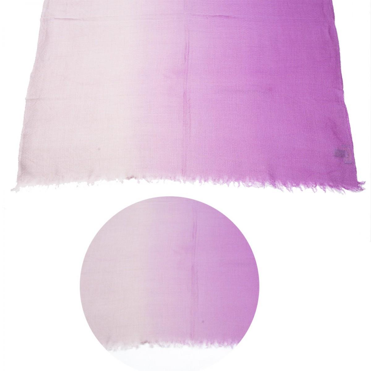 Ombre Pashmina Stole - Purple