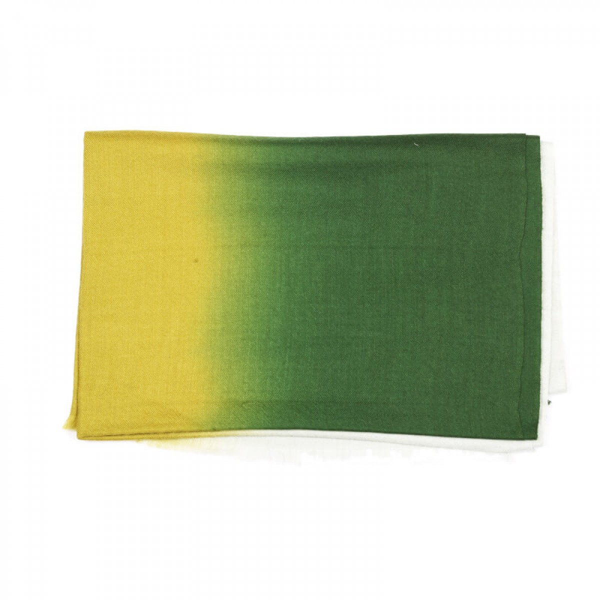 Ombre Pashmina Stole - Green & Yellow