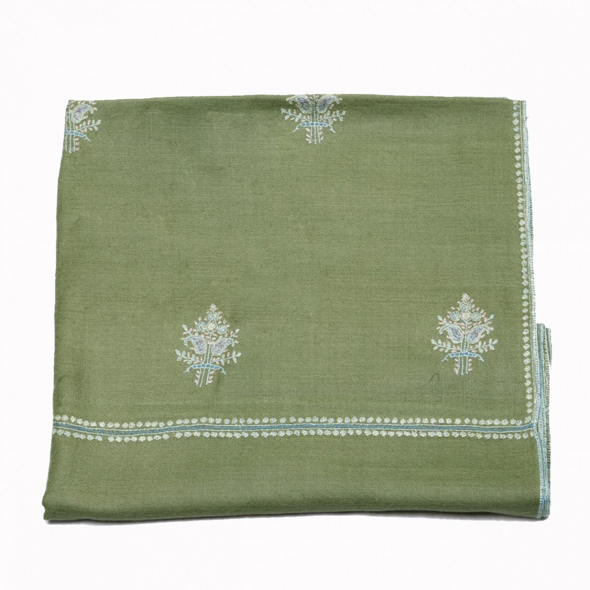 Embroidery Handloom Pashmina - Laurel