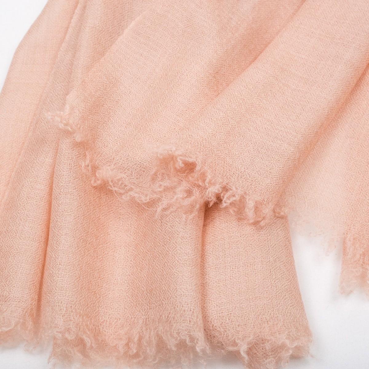 Plain Pashmina Stole - Victorian Pink