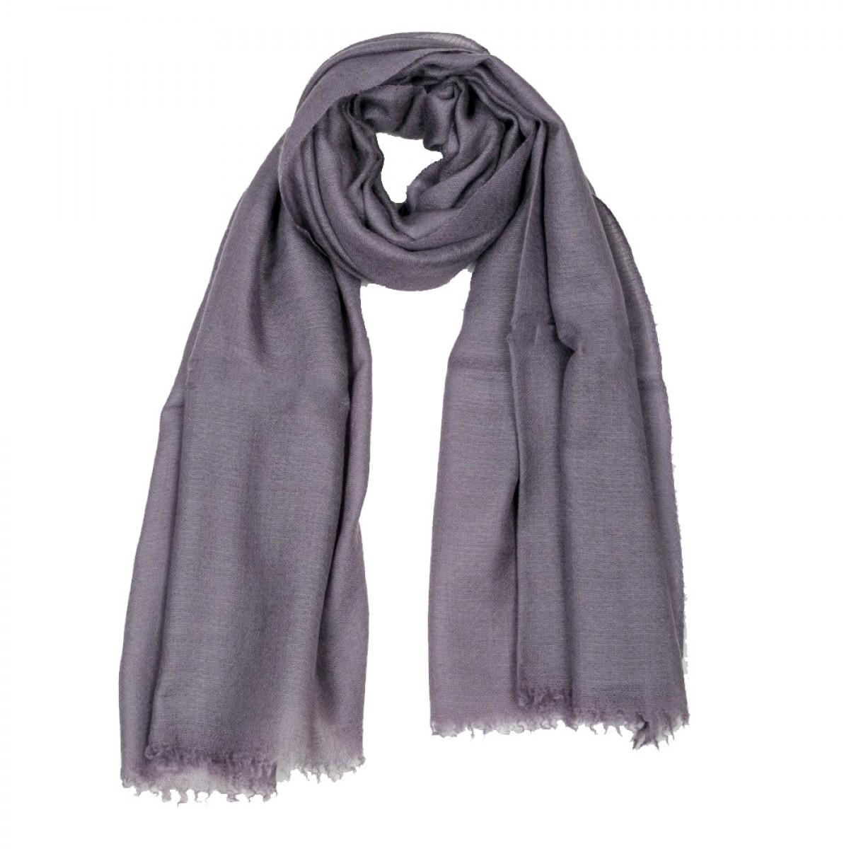 Plain Pashmina Stole - Purple Haze