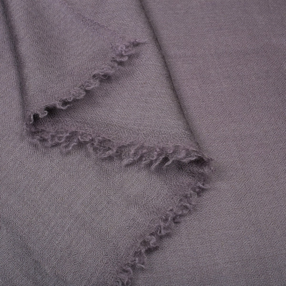 Plain Pashmina Stole - Purple Haze