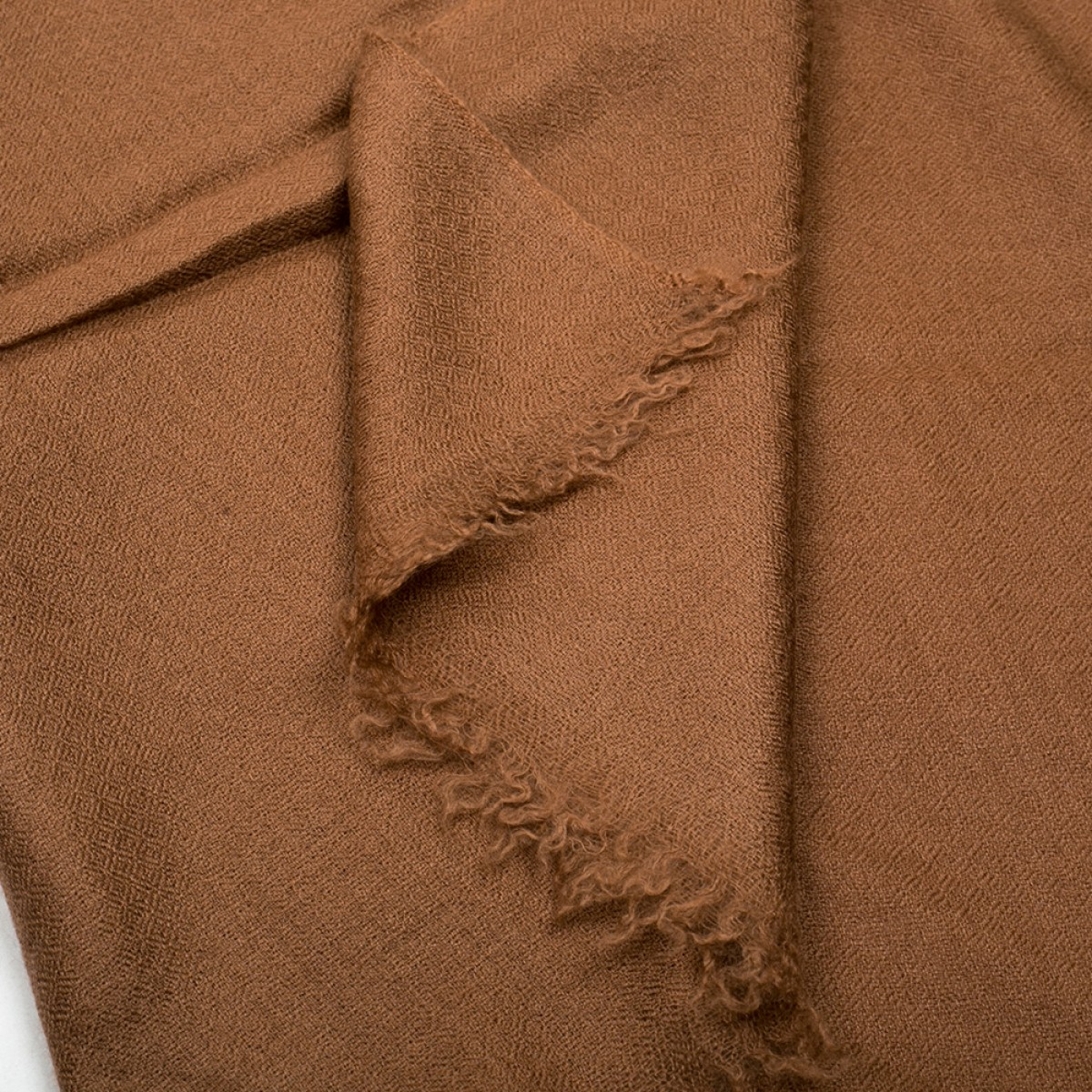 Plain Pashmina Stole - Gingerbread