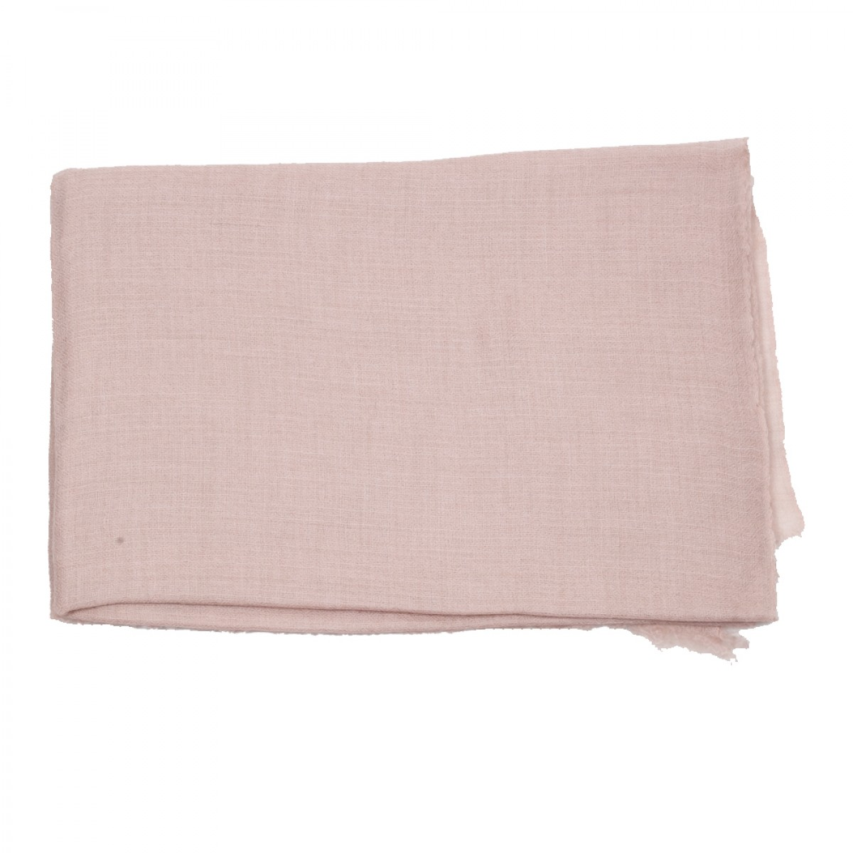 Plain Pashmina Stole - Pale Pink