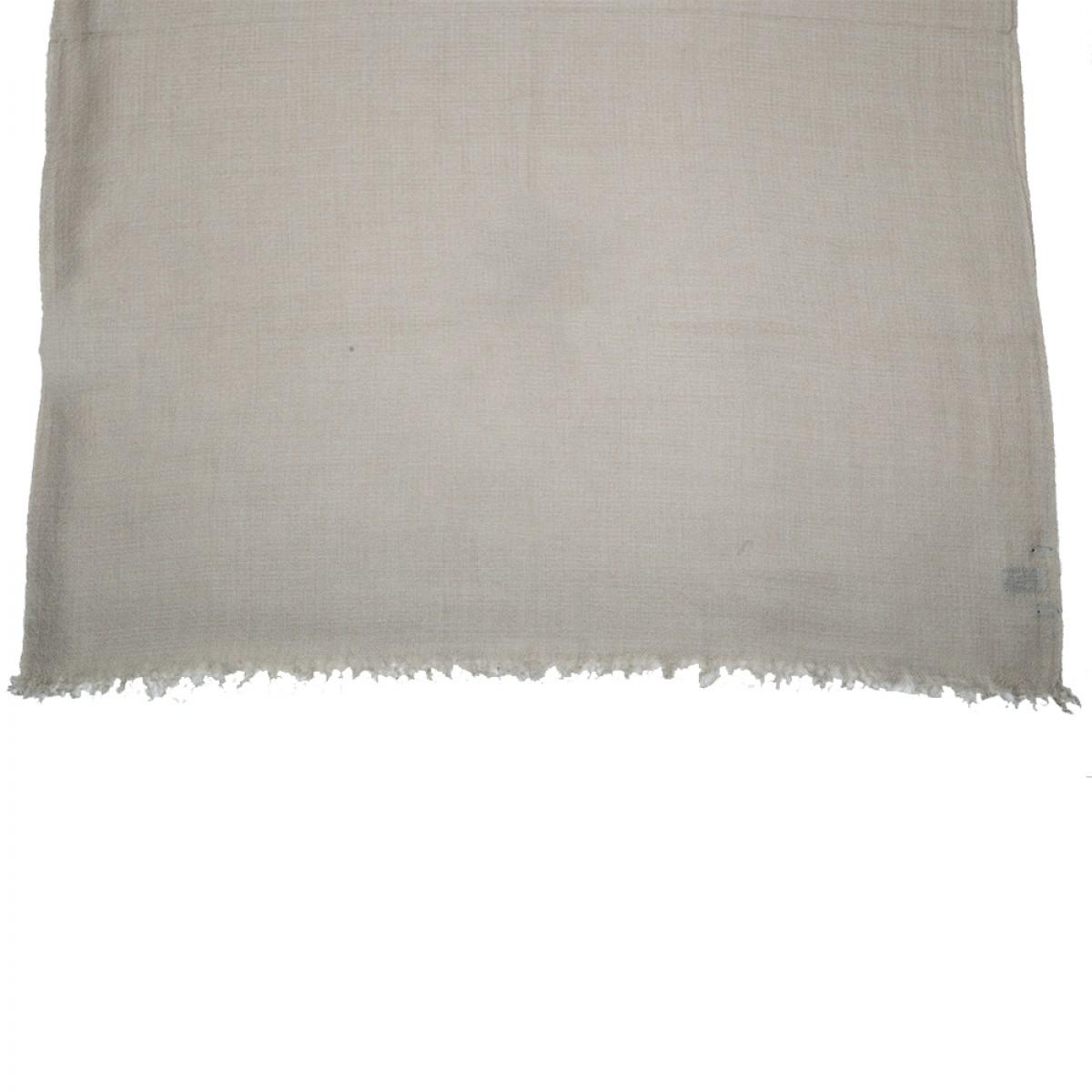 Plain Pashmina Stole - Dove Grey