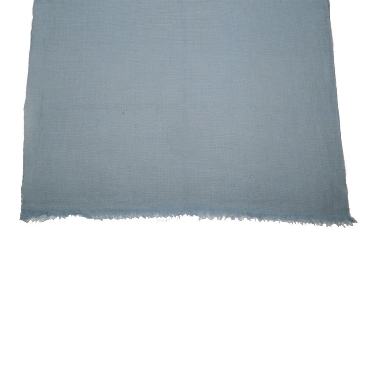 Plain Pashmina Stole - Pigeon Blue