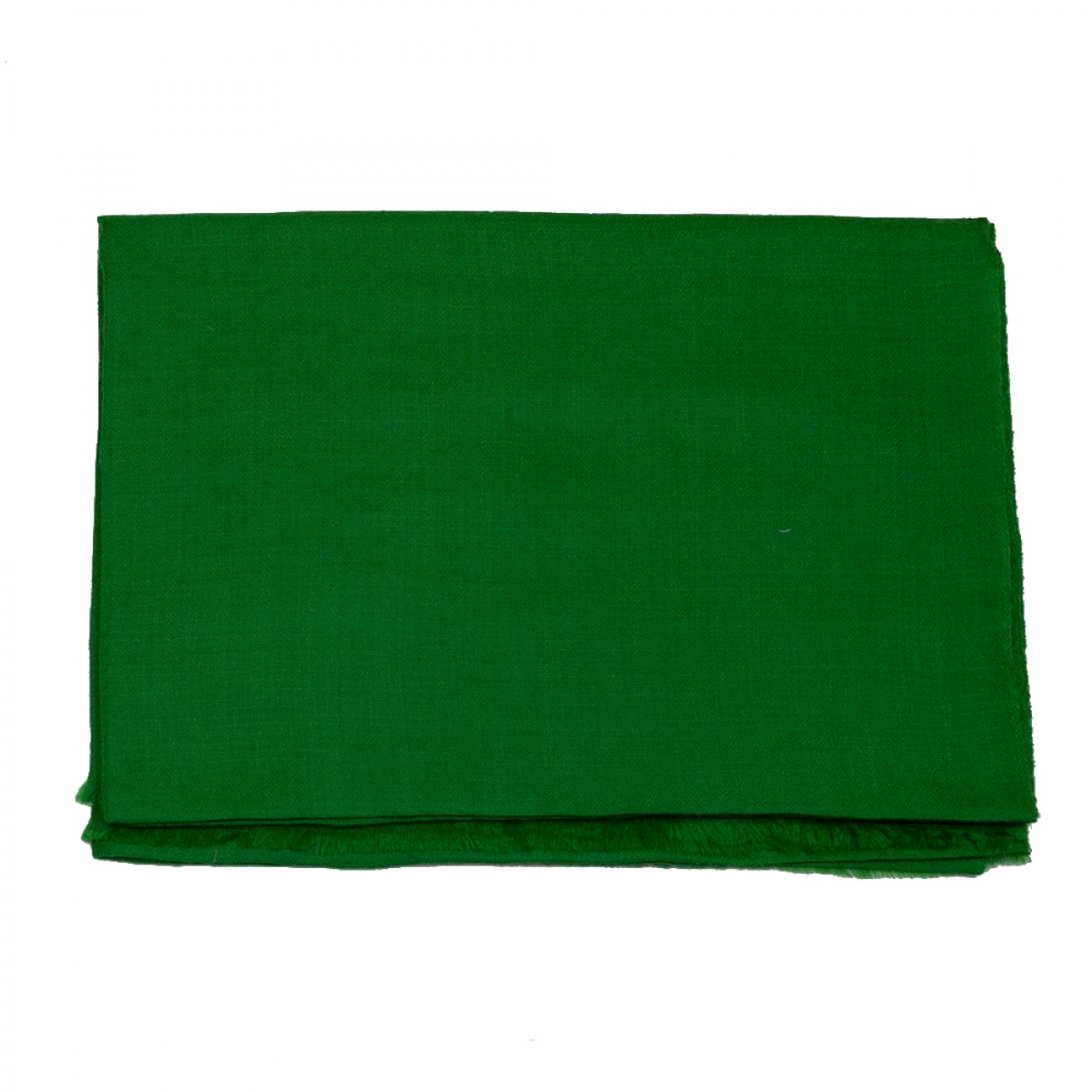 Plain Pashmina Stole - Emerald Green