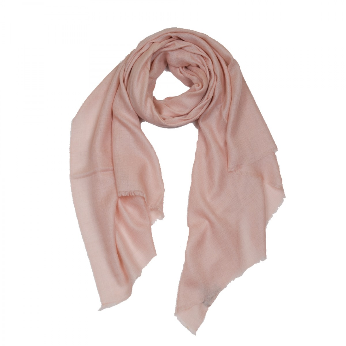 Plain Pashmina Stole - Dusty Pink