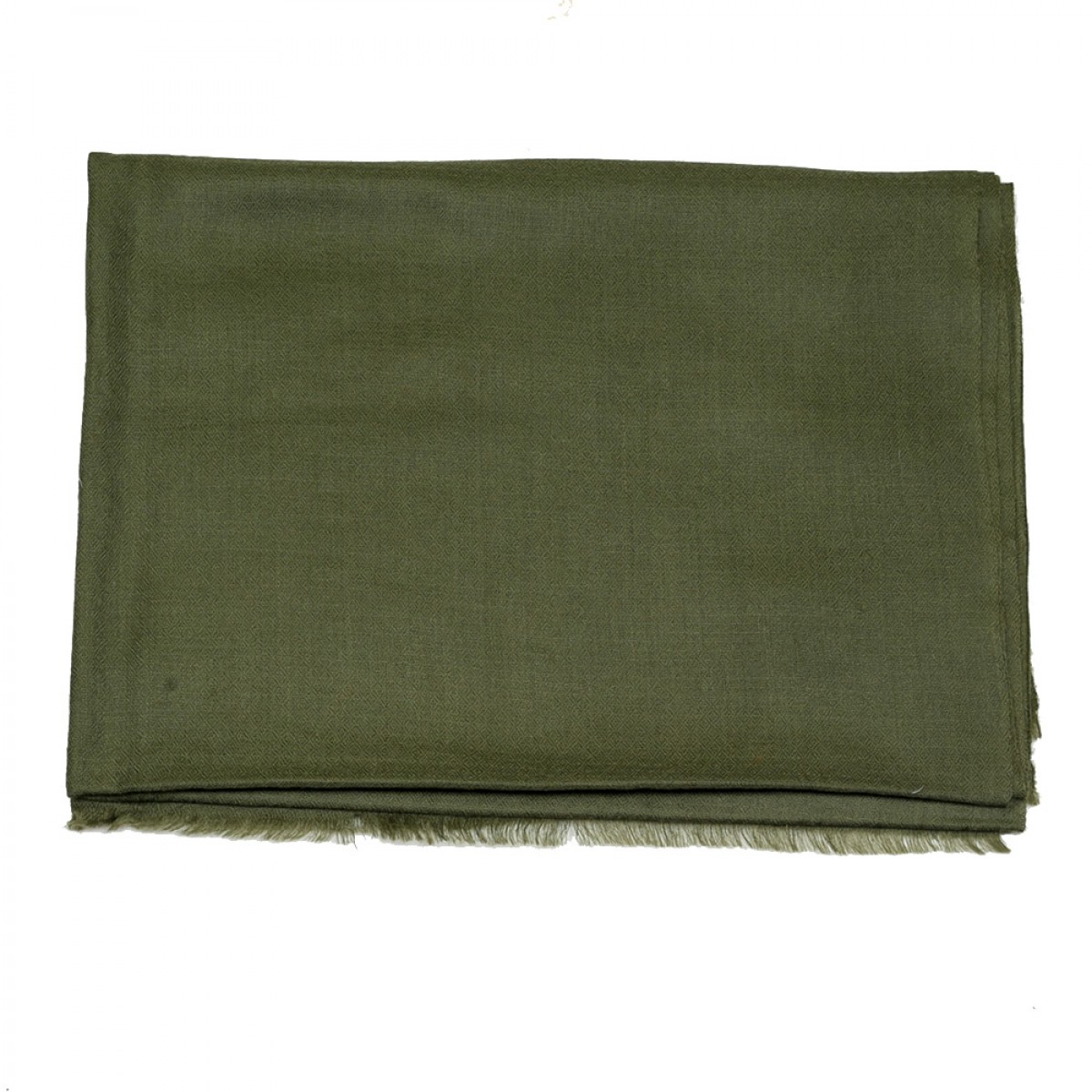 Plain Pashmina Stole - Military Green
