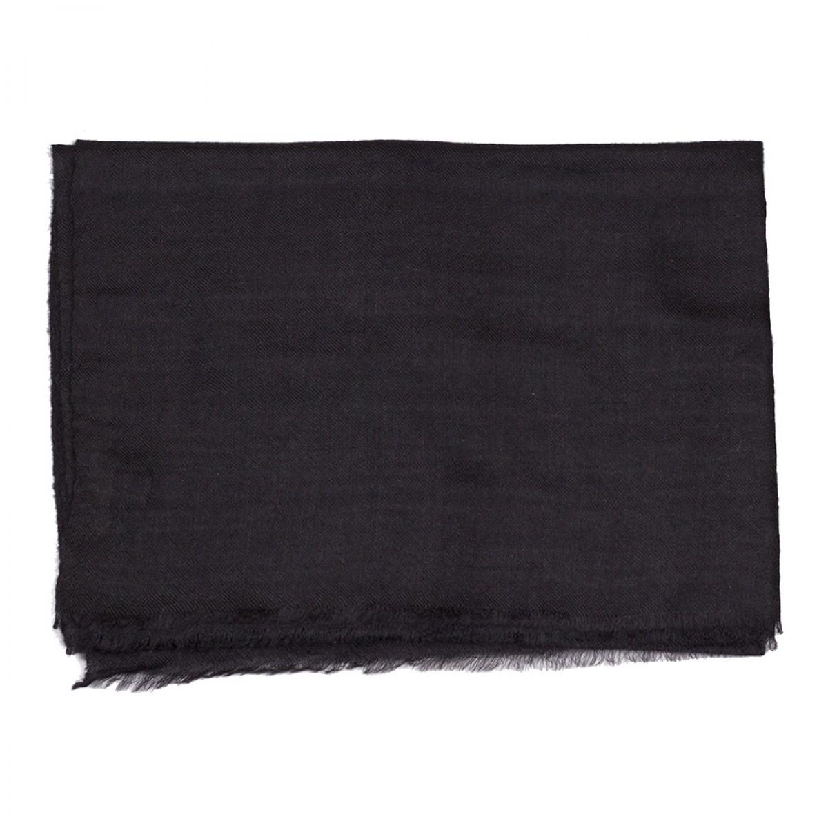 Plain Pashmina Stole - Black