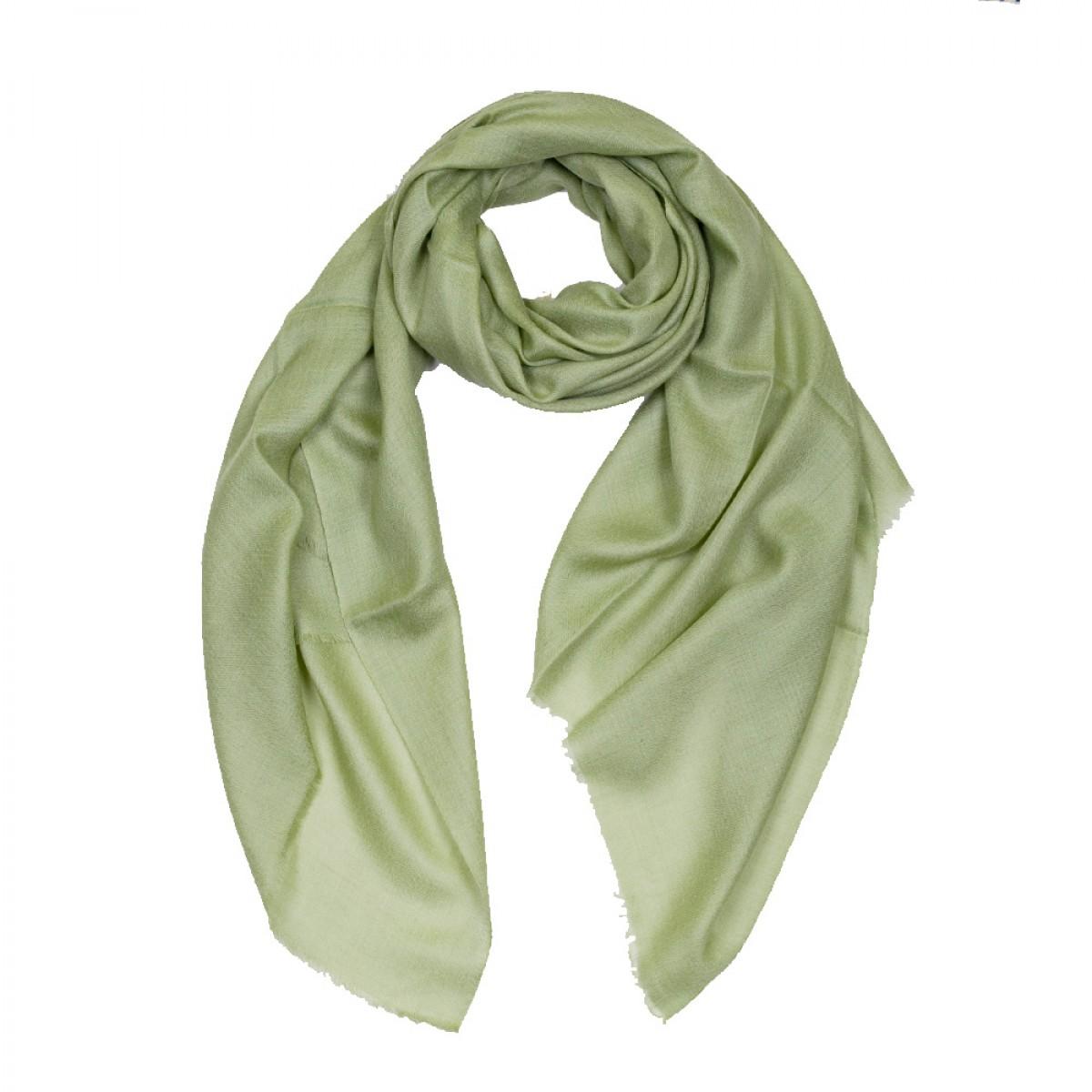 Plain Pashmina Stole - Sage Green