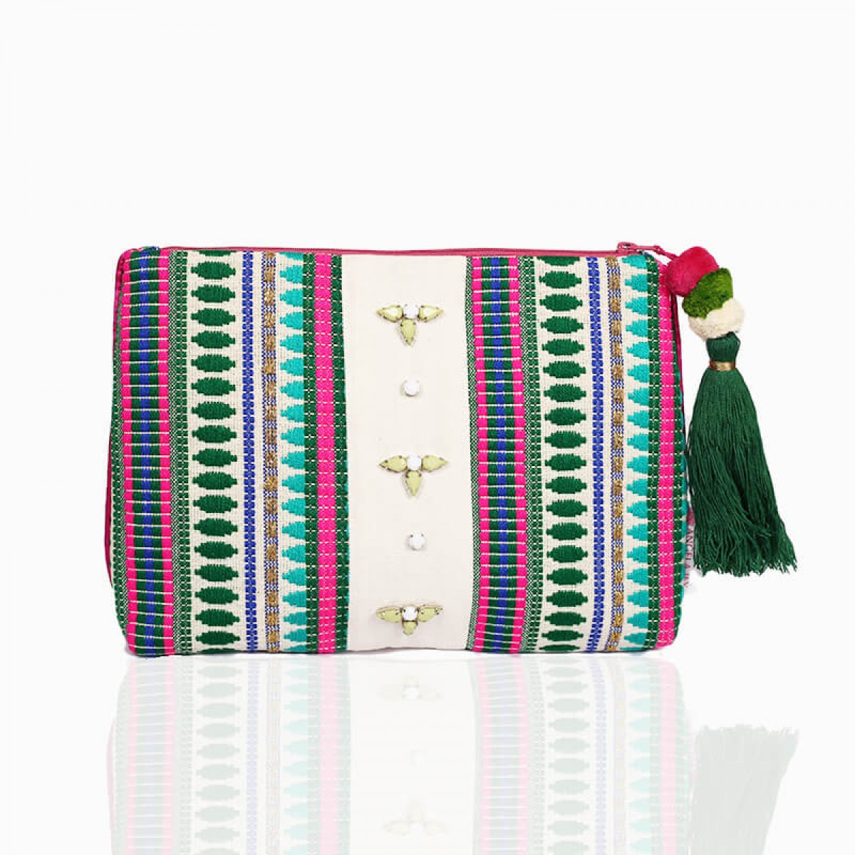 Forever Summer Pouch - Green
