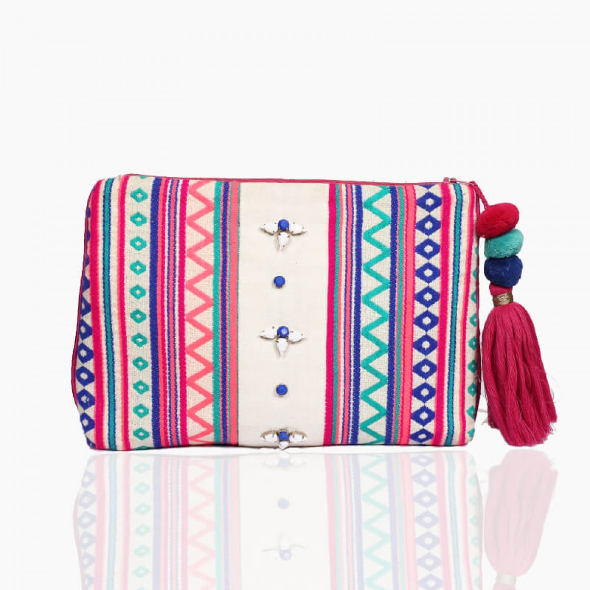 Forever summer pouch - fuchsia