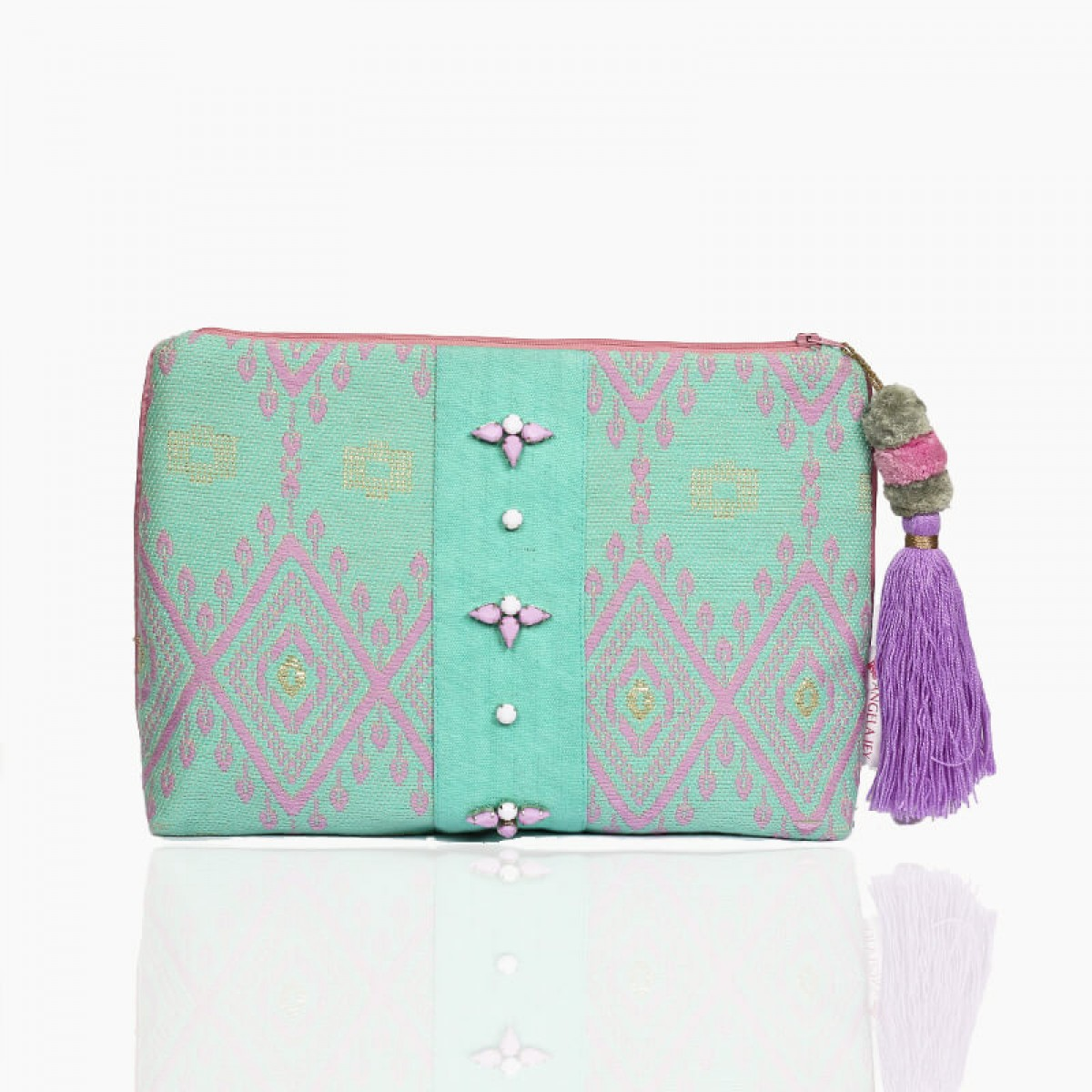 Forever Summer Pouch - Turquoise