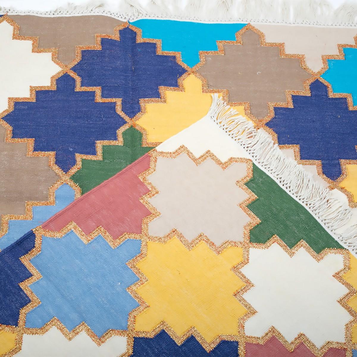 Cotton Floor Rugs - Multicolor