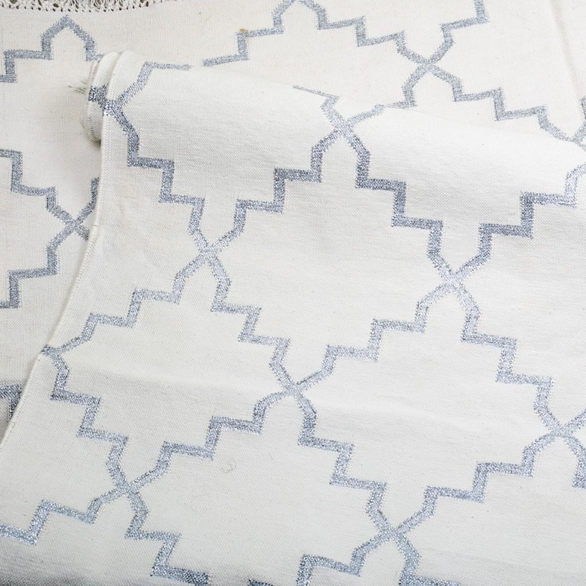 Cotton Floor Rugs - White