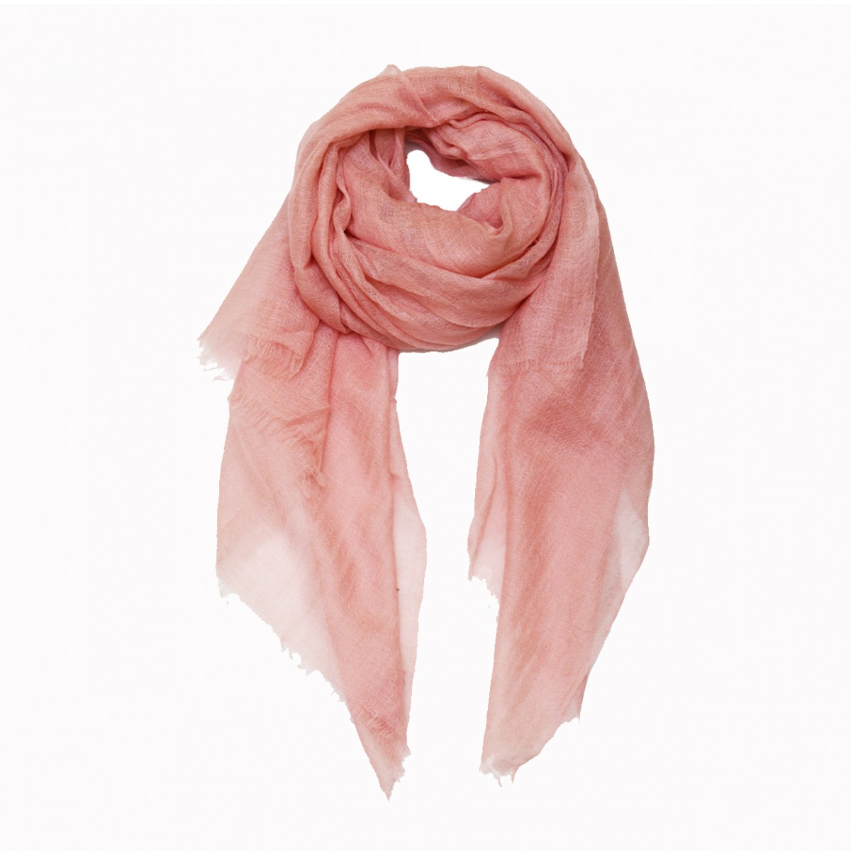 Dusty pink summer pashmina scarf
